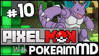 Minecraft Pixelmon Green w/ PokeaimMD, Akamaru, Gator & steve! Ep 10 - GATOR TIME by PokeaimMD