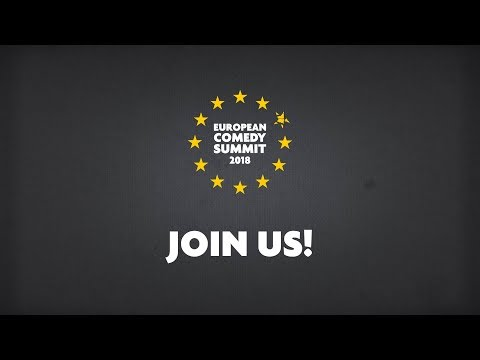 Join the European Comedy Summit 2018!