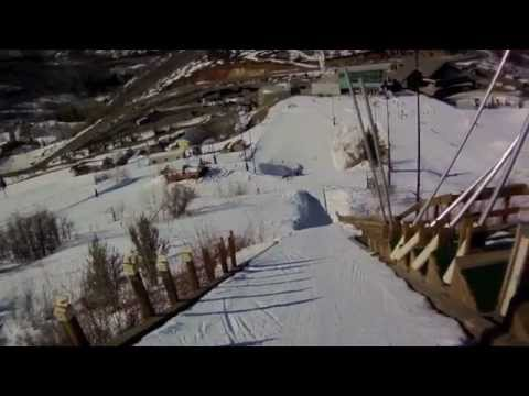 Girls First Ski Jump