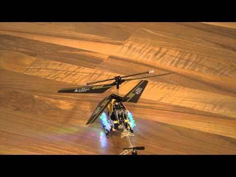 RC-Helikopter bei Helilooking in Neunmuenster