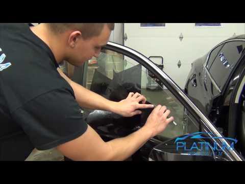 How To Professionally Tint a Car Door – Infiniti Q50s