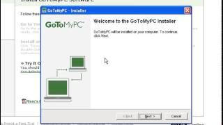 How to install GoToMyPC.