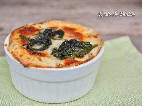 lasagne di crepes spinaci e ricotta - ricetta
