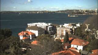 Sydney Webcam Time Lapse for Mon, 23rd June 2014