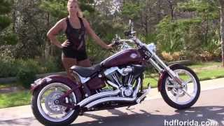 8. Used 2009 Harley Davidson Rocker C Motorcycles for sale in Panama City Beach FL