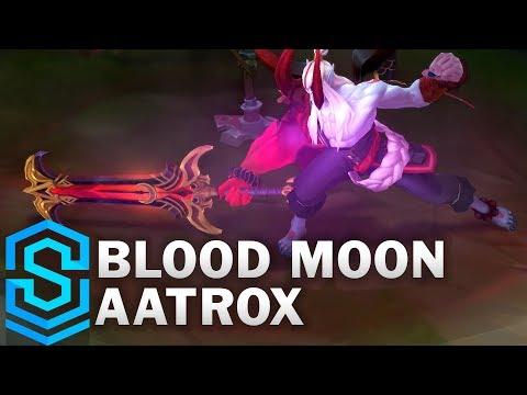 Aatrox Huyết Nguyệt - Blood Moon Aatrox