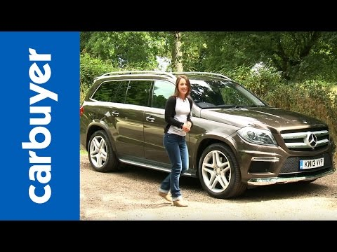 SUV - Mercedes GL-Class SUV 2013 review: http://bit.ly/18ngtiF Subscribe to the CarBuyer YouTube channel: http://bit.ly/17k4fct Subscribe to Auto Express: http://s...