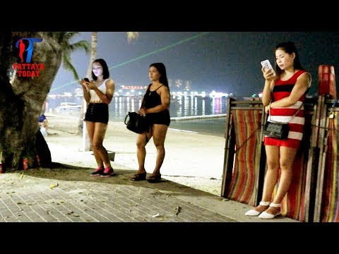 Video Night walk along the Beach road, #Pattaya, March 2018, Vlog 219 download in MP3, 3GP, MP4, WEBM, AVI, FLV January 2017