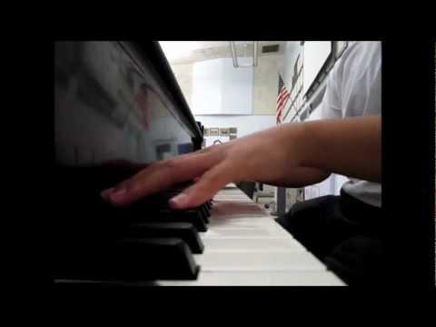 Ano Hana ED piano transcription (видео)