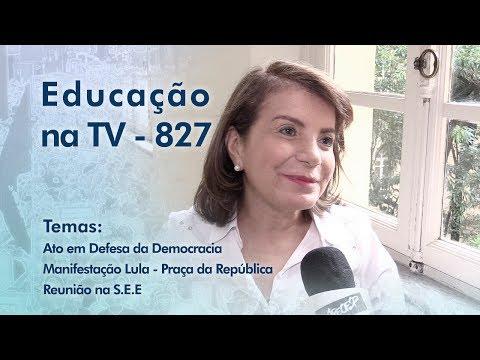 Ato em Defesa da Democracia / Manifestação Lula - Praça da República / Reunião na SEE