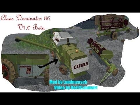 Claas Dominator 86 v1.5B
