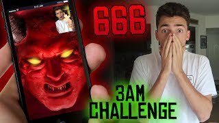 CALLING 666 ON FACETIME AT 3AM! // WHAT HAPPENS WHEN YOU FACETIME THE DEVIL AT 3 AM