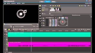Corel VideoStudio урок №1 (как смонтировать видео)
