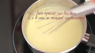 Recette pour faire une crème pâtissière