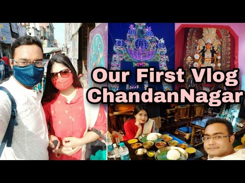 Chandannagar || pandel hopping🙏 || petpujo🍱 || HeShe 🤗