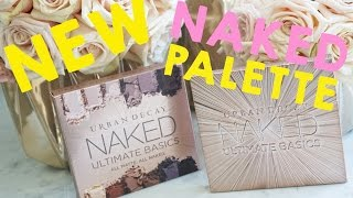 BRAND NEW URBAN DECAY NAKED ULTIMATE BASICS PALETTE - First Impression & Review by Kandee Johnson