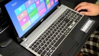 Acer Aspire V3-531 Laptop Notebook - Unboxing / Review / Test Deutsch [HQ] [HD]