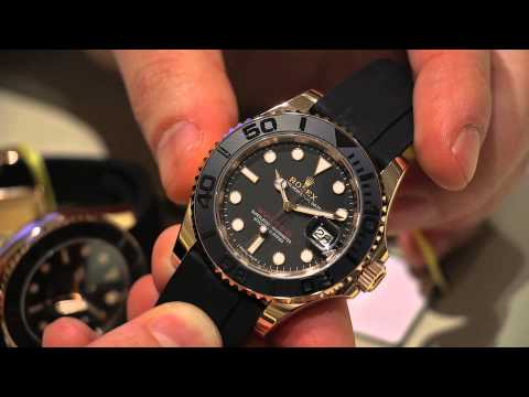 Rolex Yacht-Master 116655 & 268655 Everose Gold Ceramic Watches Hands-On | aBlogtoWatch