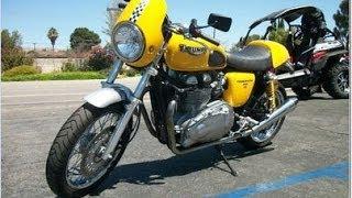 6. Used Motorcycles For Sale Custom 2004 Triumph Thruxton 102HP Hear It Run