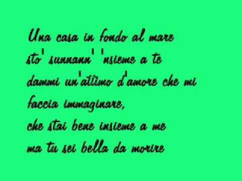 , title : 'Gigi D'alessio - portami con te (testo)'