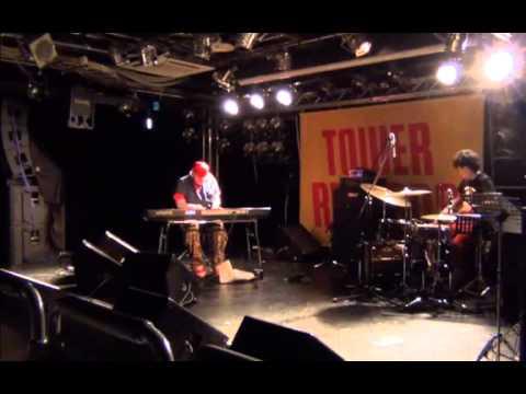 Shun Ishiwaka 石若駿& Aaron Choulai Live@TOWER RECORDS ,Shibuya
