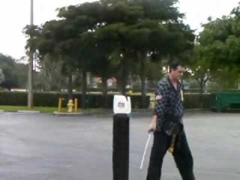 Sword Cutting Fun - Martial Arts in Coral Springs Florida
