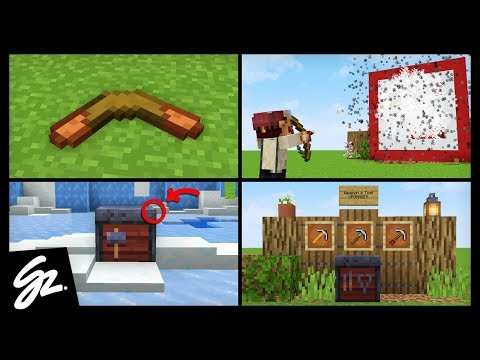 8 Weapons That Should Be In Minecraft