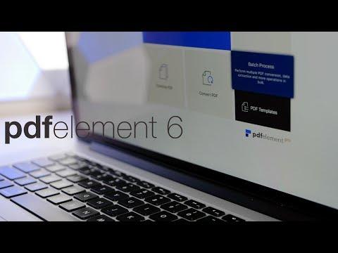 PDFelement 6 Pro For Mac OS & Windows