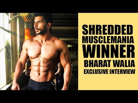 Video Shredded MuscleMania Winner- Bharat Walia exclusive interview download in MP3, 3GP, MP4, WEBM, AVI, FLV January 2017