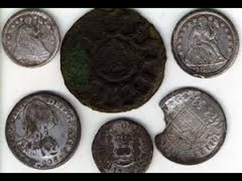 OMG! Spanish Silver & Coppers Metal Detecting Colonial Farm Relic Hunting!! Yeaaaaaa