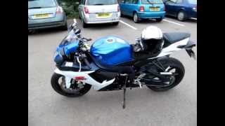 4. Suzuki GSX-R 750 quick review