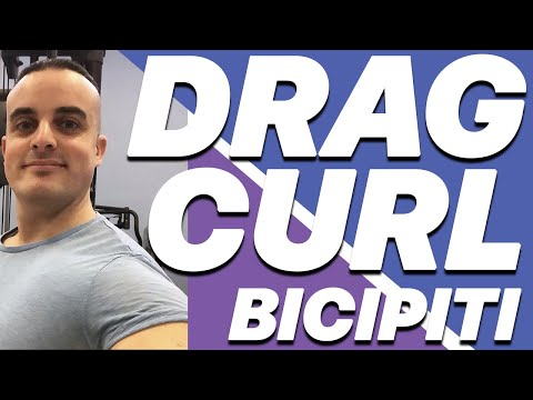Esercizi Bicipiti: Drag Curl