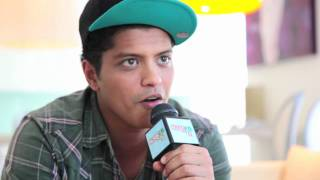 Bruno Mars Interview - Oxegen 2011