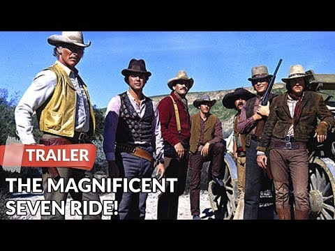 The Magnificent Seven Ride! 1972 Trailer HD | Lee Van Cleef | Stefanie Powers