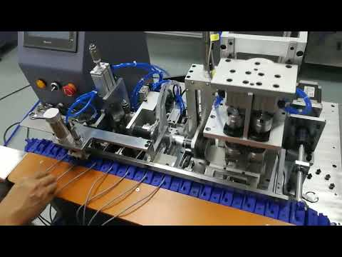 Skype - LX-430A Automatic shielded wire stripping&twisted machine  -1
