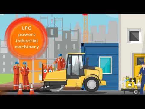 What is LPG for industry