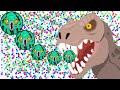 Agar.io Epic Split Run High Score 130K+ Destroying Team! (Agario Best Moments)