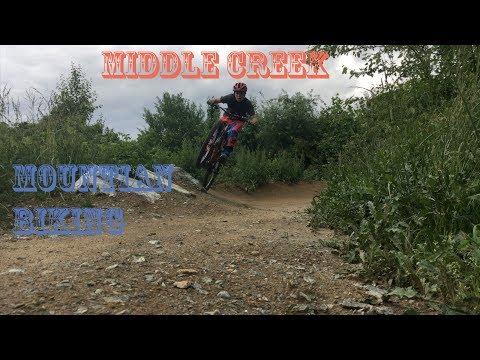 Mountian bike Middle Run (видео)