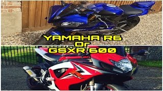 10. Yamaha R6 Or GSXR 600