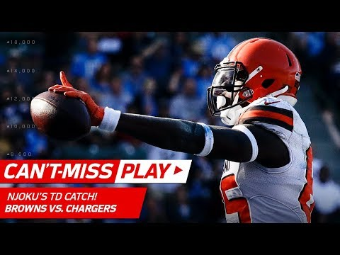 Video: Josh Gordon's Leaping Grab Sets Up David Njoku's TD Catch! | Can't-Miss Play | NFL Wk 13 Highlights
