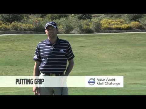 Golf with Sergio Garcia – Putting Grip