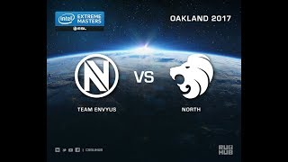 Team EnVyUs vs North - IEM Oakland 2017 EU Quals - map1 - de_nuke [sleepsomewhile, MintGod]