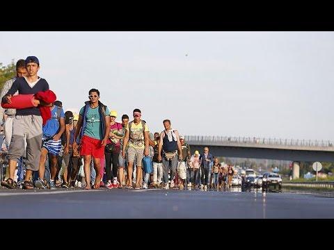 Ουγγαρία: «Απόδραση» από τους καταυλισμούς- Πορεία φυγής προς την Αυστρία