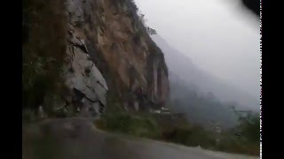 Lachen India  city photos : Most Dangerous Road in Sikkim, India - Scariest Road in Sikkim India - Way to Lachung & Lachen