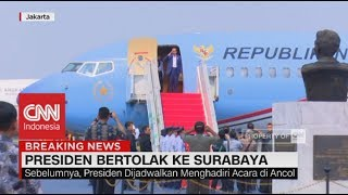 Video Presiden Bertolak ke Surabaya MP3, 3GP, MP4, WEBM, AVI, FLV Mei 2018