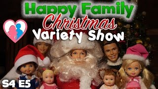 "The Barbie Happy Family Show S4 E5 ""Christmas Variety Show"""