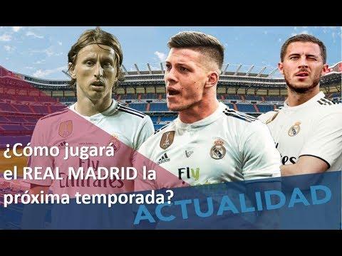 Hazard, Jovic y el esquema del Real Madrid. ¿Cómo debería jugar? #MundoMaldini