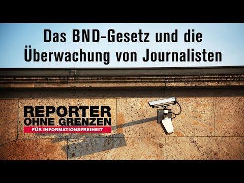 Pressekonferenz: Das BND-Gesetz und die Überwachung ...