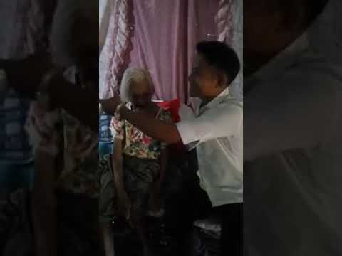 Lola Francisca Susano a 121 years old.She is the oldest living person in the Philippines .