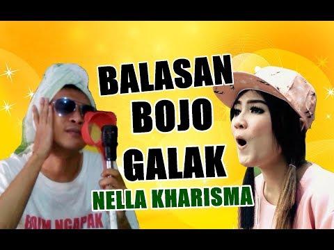 Video BALASAN  BOJO GALAK - NELLA KHARISMA (Official Video Parody) download in MP3, 3GP, MP4, WEBM, AVI, FLV January 2017